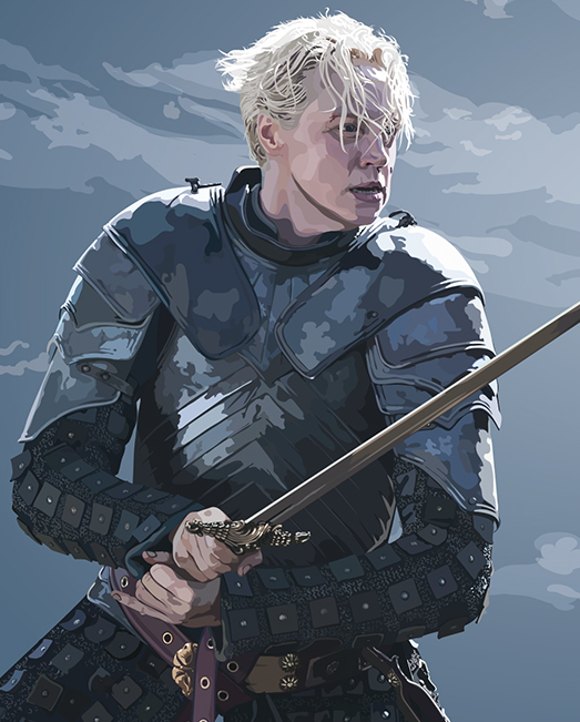 Game of Thrones honours Brienne of Tarth Arts