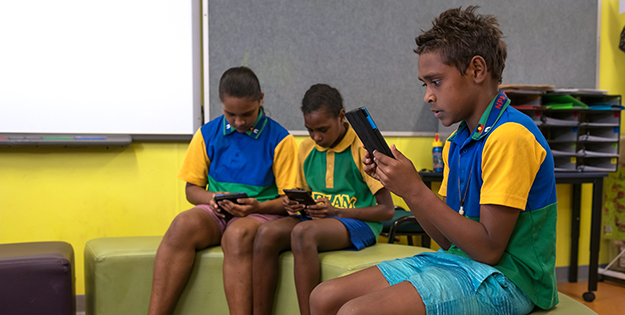 Indigenous Reading Project ACU Daniel Billing